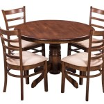 Amazon Buy Royal Oak Coco Dining Table Set With 4 Chairs Brown For Rs 14249 56