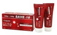 Amazon- Buy Colgate Toothpaste Visible White Sparkling Mint