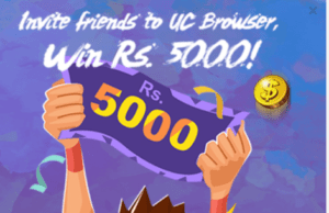 uc browser paytm cash