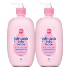 Amazon- Buy Johnson's Baby Lotion (Pack of 2, 500ml) at Rs 420