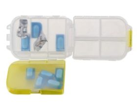 Amazon- Buy Miamour Plastic Pills Storage Box, Small at Rs 74