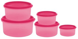 Amazon - Princeware SF Round Package Container Set