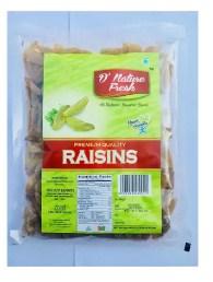 D'Nature Fresh Indian Raisin 250Gms 1Pc