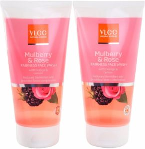 Flipkart - Buy VLCC Mulberry and Rose Fairness Face Wash