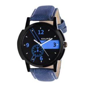 Kajaru KJR-06 stylish sporty analog watch for boy&Men at Rs.19 only