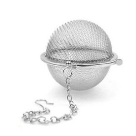 LMS Stainless Steel Tea Strainer, Multicolour