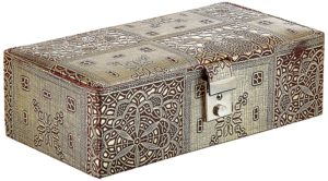 Miamour Cardboard and Fabric Jewelry Box (EJBCB001001)
