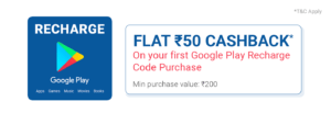 Phonepe google play gift card