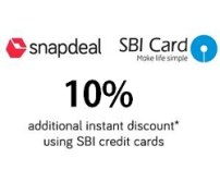 Snapdeal- Get flat 10%