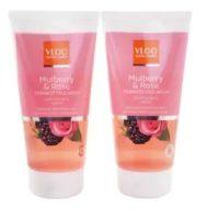 VLCC Mulberry & Rose Facewash -150m lPack of 2