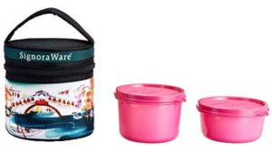Signoraware Venice Executive GenX Lunch Box with Bag Set at rs.211