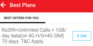 Airtel Welcome Offer