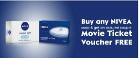 Nivea couple movie ticket