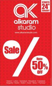 Alkaram Studio Sale 2014
