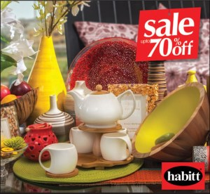Habitt Furniture Sale July 2014 in Karachi & Lahore