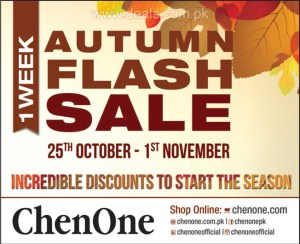 ChenOne Sale October 2015