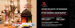 Marriott Hotel Islamabad Iftar Dinner Buffet 2016 Sehri Buffet Rates & Deals
