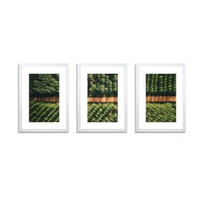 3 PCS Photo Frame Wall Set A3 Picture Home Decor Art Gift Present White