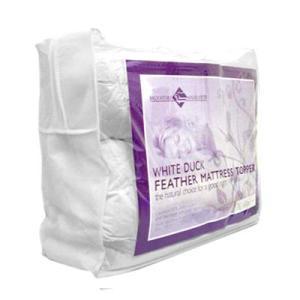 Double Mattress Topper - 100% Duck Feather
