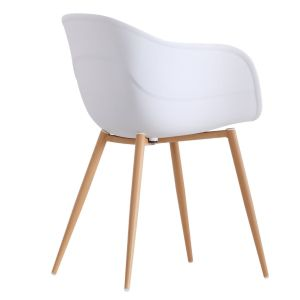 Jayden White Charming Beetle Dining Chair Set of 2