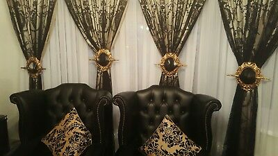 antique curtain hold backs 3 99