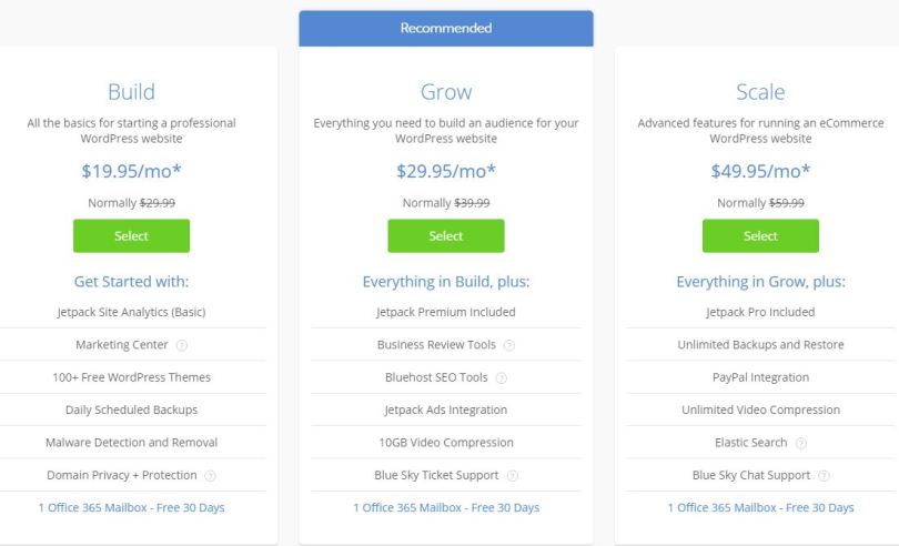 Bluehost Coupons code