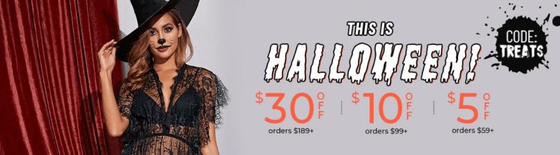 shein halloween offer