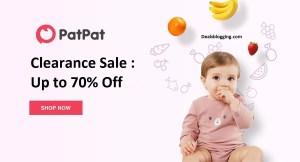patpat clearance