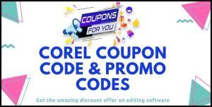 Corel promo code