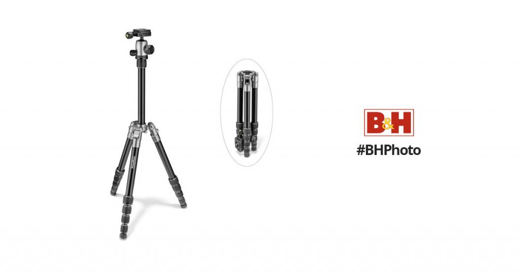 Prima Photo Small Travel Tripod (Silver) PHTRSSL B&H Photo Video