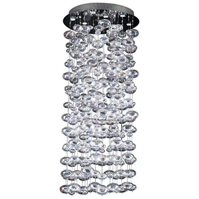 """Bubbles Chandelier-Size:34"""" W x 94"""" H - Walmart.com"""