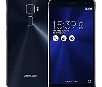 Buy Asus ZenFone 3 ZE520KL 32GB Sapphire Black, 5.2-inch, Dual Sim, 3GB Ram, Unlocked International Model