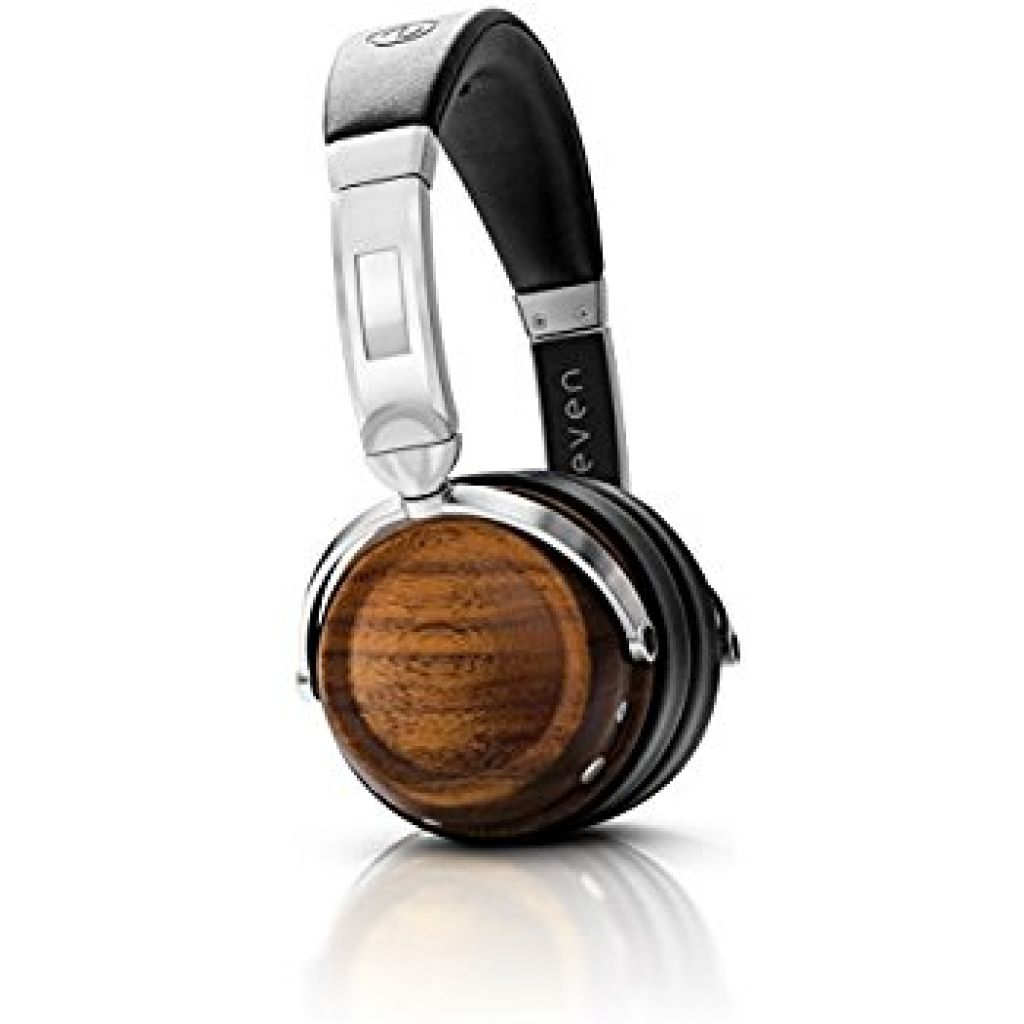 Amazon.com: EVEN EarPrint H2 Bluetooth Wireless Headphones that Adapt to the Way You Hear — with Mic (Walnut and Steel): Electronics