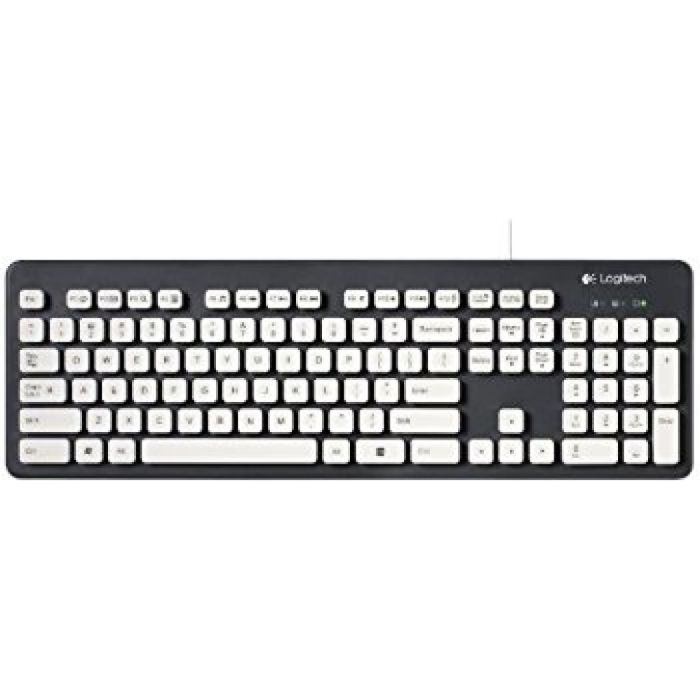 Amazon.com: Logitech Washable Wired Keyboard K310 : Computers & Accessories