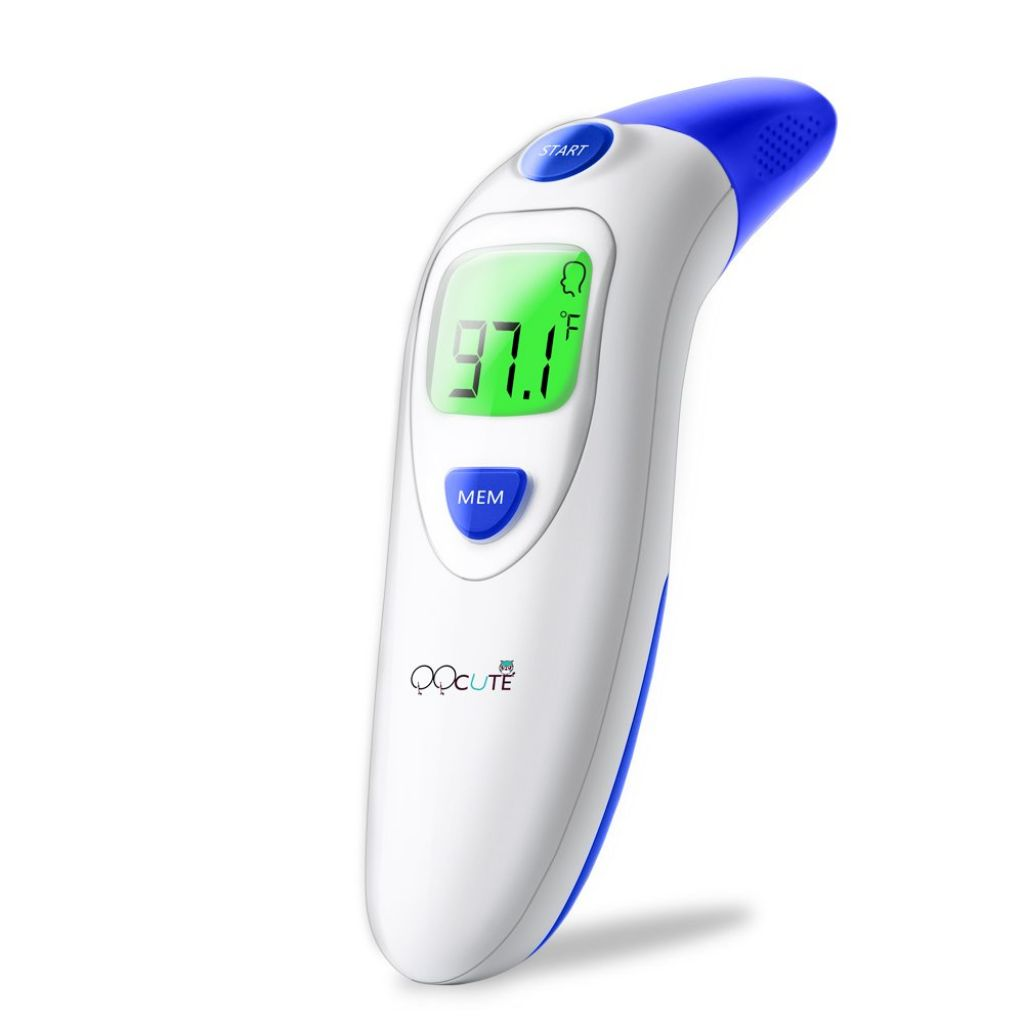Amazon.com: QQcute Digital Infrared Forehead Thermometer More Accurate Medical Fever Body Basal, Black, 80 Gram: Health & Personal Care