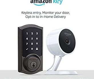 Buy Amazon Key Home Kit, with security camera and compatible smart lock, starting at $169.99 ($120 off)