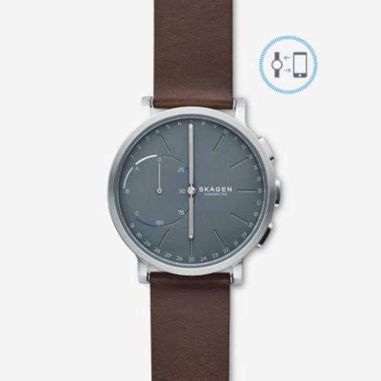 Hybrid Smartwatch - Hagen Dark Brown Leather | SKAGEN® | Free Shipping
