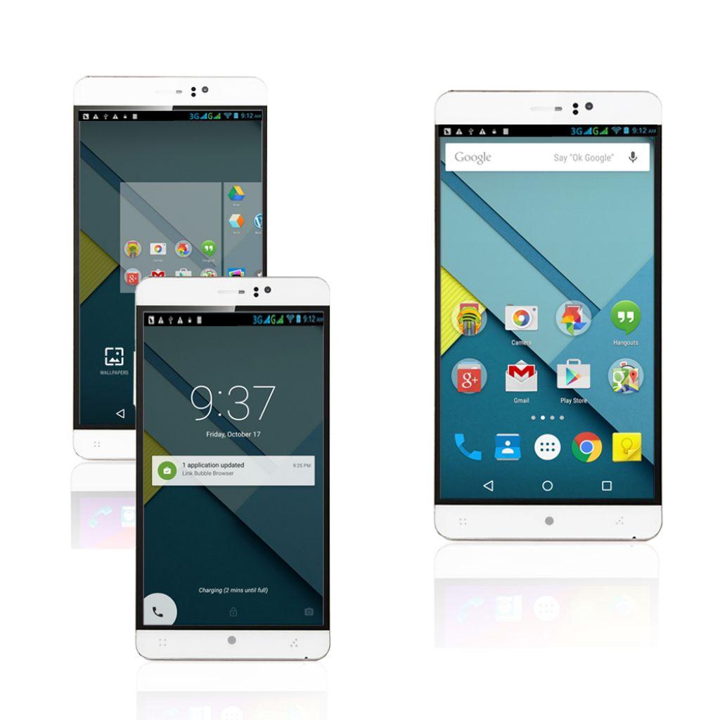"Indigi® 3G Factory Unlocked 6.0"" DualSim SmartPhone Android 5.1 Lollipop w/ WiFi + Bluetooth Sync + DualCameras - Walmart.com"