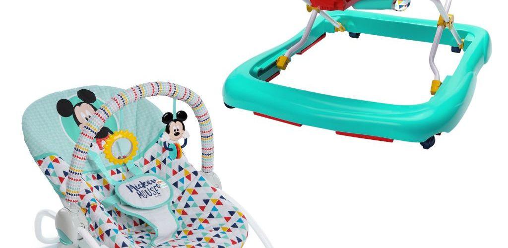 Buy Disney Mickey Walker & Rocker Bundle for $39 (Was $87.75)