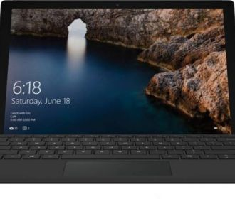 Buy Microsoft Surface Pro 4 Core m3 6th Gen – (4 GB/128 GB SSD/Windows 10 Home) 1724 2 in 1 Laptop(12.3 inch, SIlver, 0.76 kg) for Rs 47990 (Was ₹68,990)