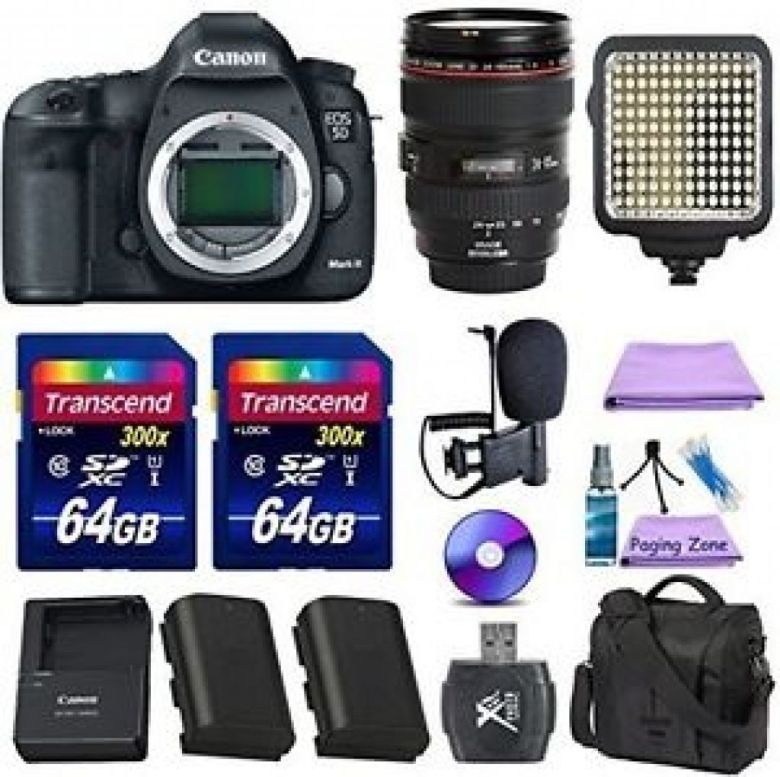 Canon EOS 5D Mark III 22.3 MP Digital SLR + Canon EF 24-105mm f/4 L IS USM Lens | eBay
