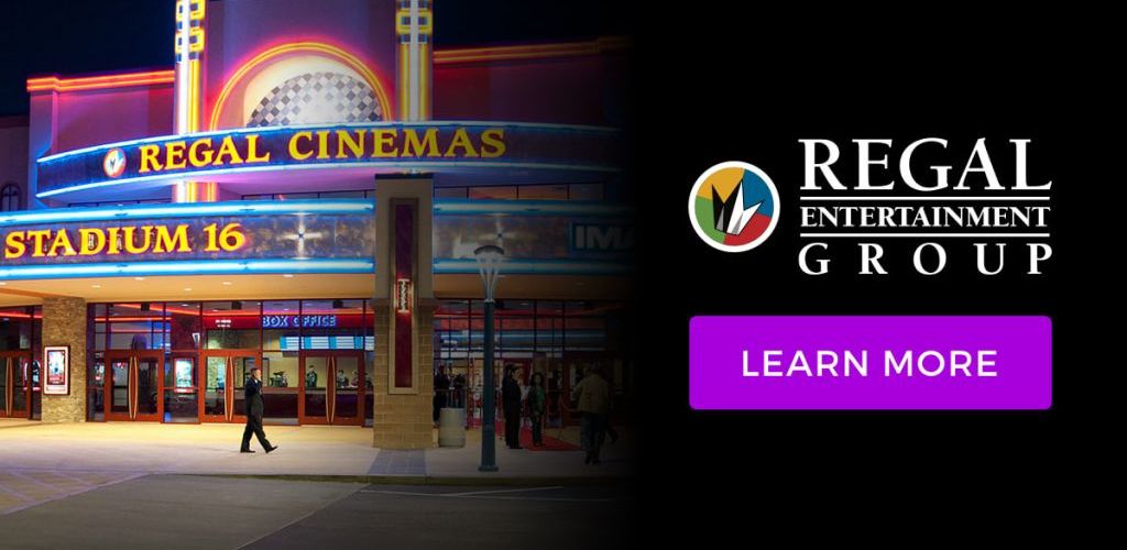 Regal Kids Movies ONLY $1