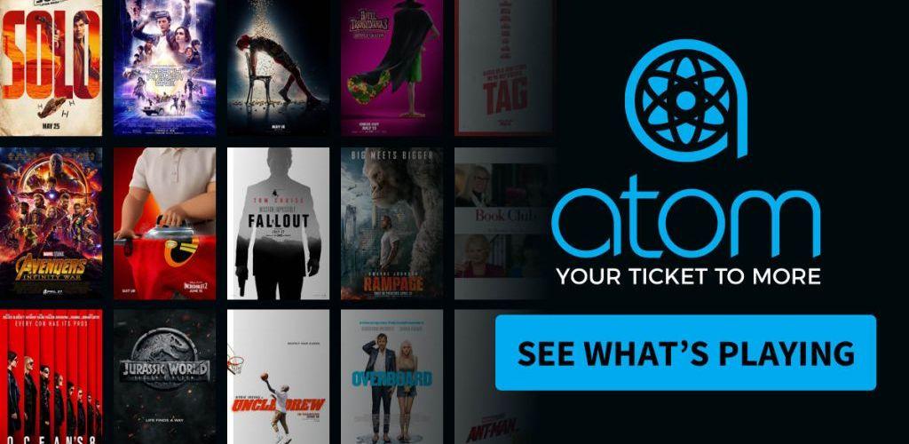 Atom tickets $5 Off Movie Ticket