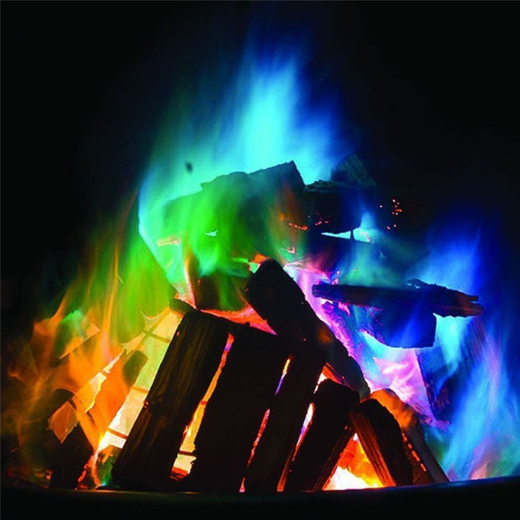 Buy Mystical Coloured Fire Powder Pack $1.22