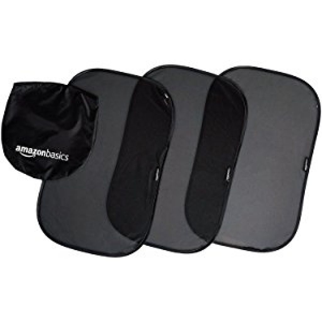 Buy 3-Pack Car Side Window Stick-On Sun Shades for $6.52