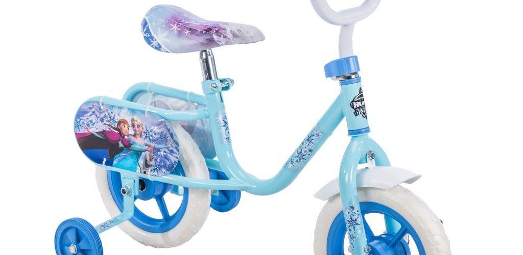 Buy Disney Frozen 10″ Girls' Huffy Bike + More $33.43
