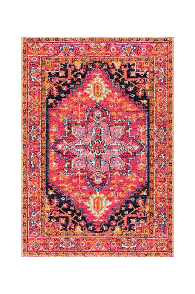 nuLOOM | Fancy Persian Vonda Rug - 3ft x 5ft - Pink | Nordstrom Rack
