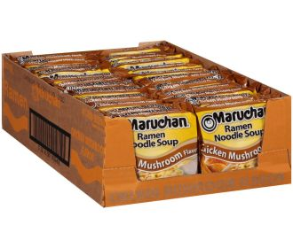 Buy 12-Pack 2.25-ounce Maruchan Instant Lunch for $3.48