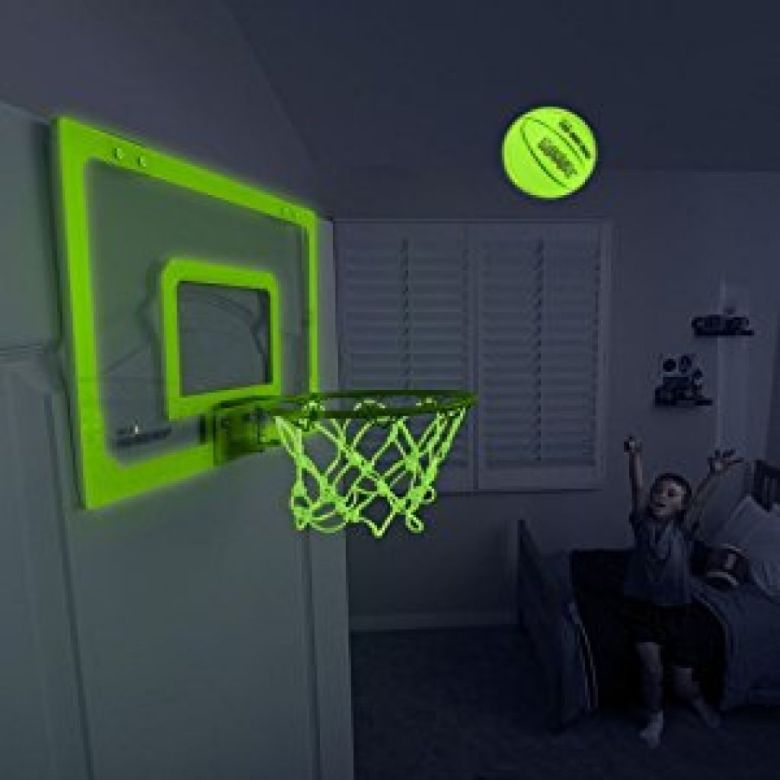 Amazon.com : SKLZ Pro Mini Basketball Hoop - Glow In The Dark : Sports & Outdoors