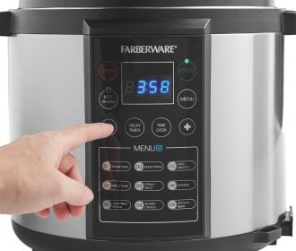 Buy Farberware 6-Quart Digital Pressure Cooker for $59.84 Shipped (Regularly $80)